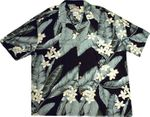 Paradise Found Broad Leaf Hawaiian Aloha Shirt