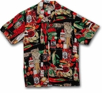 Paradise Found Chili Pepper #2 Men's Hawaiian Shirt / Sold Out