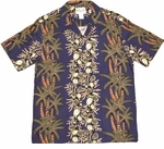 Paradise Found Coconut Panel Men's Hawaiian Aloha Shirt