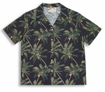 Paradise Found Coconut Tree Men's Hawaiian Aloha Shirt