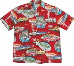 Paradise Found Corvette 500 Hawaiian Aloha Shirt