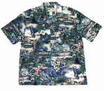 Paradise Found Golf Dreams Men's Hawaiian Aloha Shirt