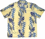 Paradise Found Heliconia Panel Hawaiian Aloha Shirt