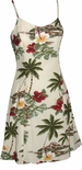 Paradise Found Hibiscus Island  Hawaiian Aloha Sun Dress