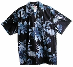 Paradise Found Hibiscus Men's Hawaiian Aloha Shirt