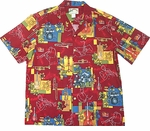 Paradise Found Jazz Original Vintage Print Hawaiian Shirt