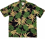 Paradise Found Monstera - Vintage Hawaiian Aloha Shirt