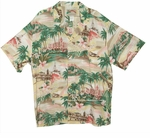 Paradise Found South Pacific Original Hawaiian Aloha Shirt