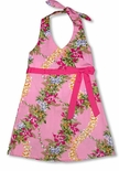 CLOSEOUT Paradise Garden Lei Girls Halter Dress