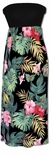 Paradise Incredible Tropical Display Long Sundress knit top