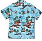 Paradise Island Outriggers Cotton