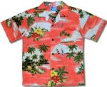 Paradise Island Sailboat Boys Shirt