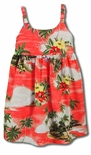 Paradise Island Sailboat Girls Dress