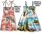 Paradise Island Surf Girls Hawaiian sundress