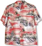 Paradise Island Surf Mens Shirt Matching Family