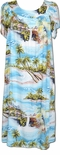 Paradise Island Surf MuuMuu House Dress