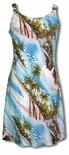 Paradise Island Surf Bias Cut Puanani Dress