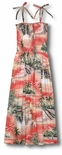 Paradise Island Surf Women's Hawaiian Aloha Sun Dress