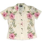Paradise Lei Womens Fitted Blouse