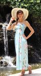 Paradise Lei Long Length Hawaiian Rayon Sundress