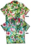 CLOSEOUT Parakeet in the Lush Garden women's shirt
