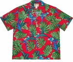 Parrot Fern Hawaiian Shirt