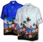 Parrot Island Bottom Band Men's Shirt