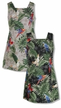 CLOSEOUT Parrots Monstera Dress