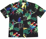 Parrots Original Men's Aloha Shirt