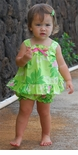 Party Fun Girl's Ruffle Cabana Set 100% Cotton 12 Month Size in Pink Only