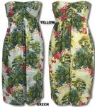 Peaceful Paradise 3 in one dress Halter style, Strapless style or Skirt