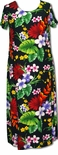Phantasmagorical Floral womens round neck long dress to Plus 4X