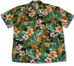 Pineapple Hibiscus Waimea Casuals mens shirt