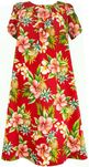 Pineapple Hibiscus Cotton Muu Muu Dress