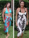 Pineapple Monstera Sarong
