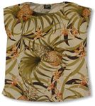 CLOUSEOUT Pineapple Orchid Womens Pullover Blouse