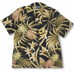 Pineapple Orchid Womens Shirt