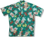 Pineapple Palm Men's Vintage Shirt