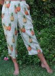 Pineapple Tropic Cropped Capris