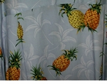 Pineapple Tropic Men's Paradise Found Hawaiian Aloha Shirt