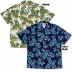 Pineapples Mens Cotton aloha Shirt