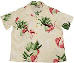 Pink Flamingo 19 womens paradise found shirt
