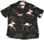 Pink Flamingo 16 women's paradise found shirt