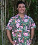 Pink Flamingos & Parrots Jungle Mens Shirt