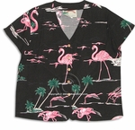 DISCONTINUED Pink Lagoon Blouse