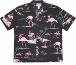 Pink Flamingo Men's Shirt