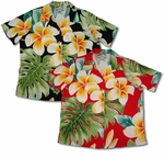 Plumeria Beauty women's paradise found shirt