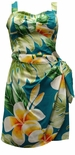 Plumeria Beauty Paradise Found Sarong Dress