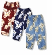 Plumeria Hibiscus Feather Fern Women's Capri Pants
