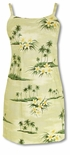Plumeria Island women's empire sundress